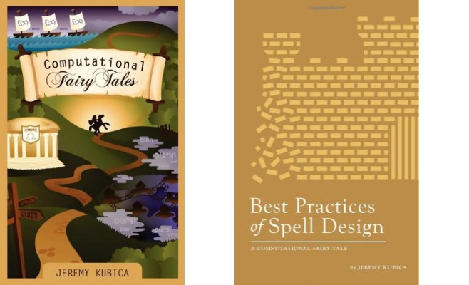 Böckerna Computational Fairy Tales och Best Practices of Spell Design