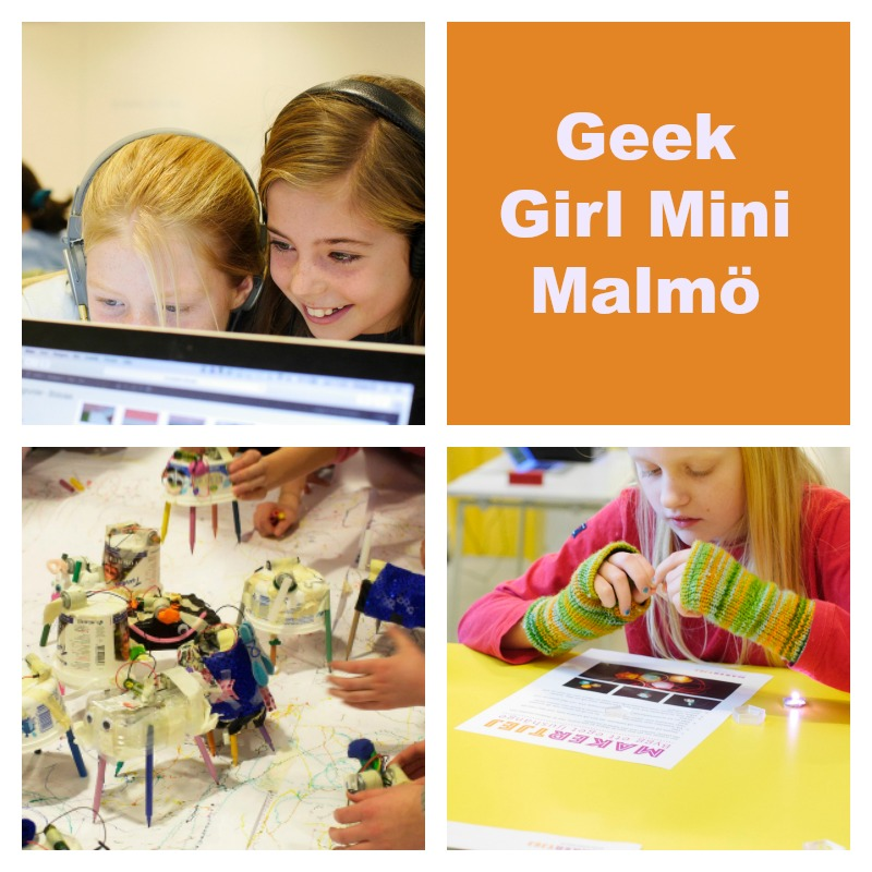 geek girl mini malmo collage